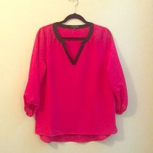 NWT Bright Pink Blouse